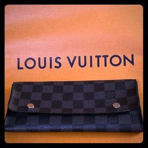 Louis Vuitton Damier Graphite Long Modular Wallet